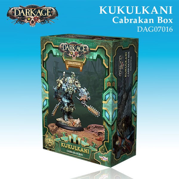 Kukulkani Cabrakan Unit Box (1)-Darkage-Multizone: Comics And Games | Multizone: Comics And Games