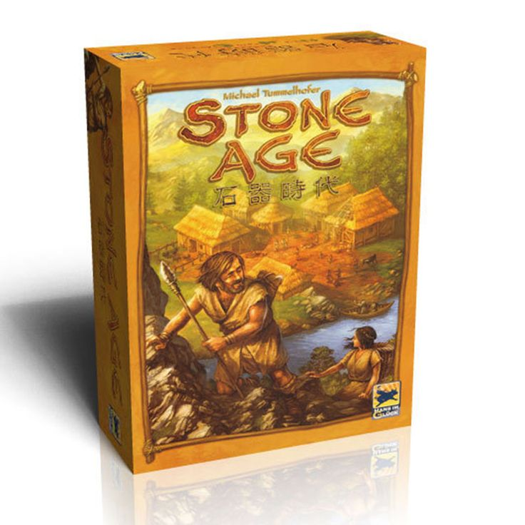 Stone Age (ENG)-Board game-Multizone: Comics And Games | Multizone: Comics And Games