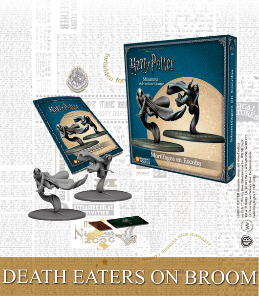 Death eaters on Broom-Miniatures|Figurines-Multizone: Comics And Games
