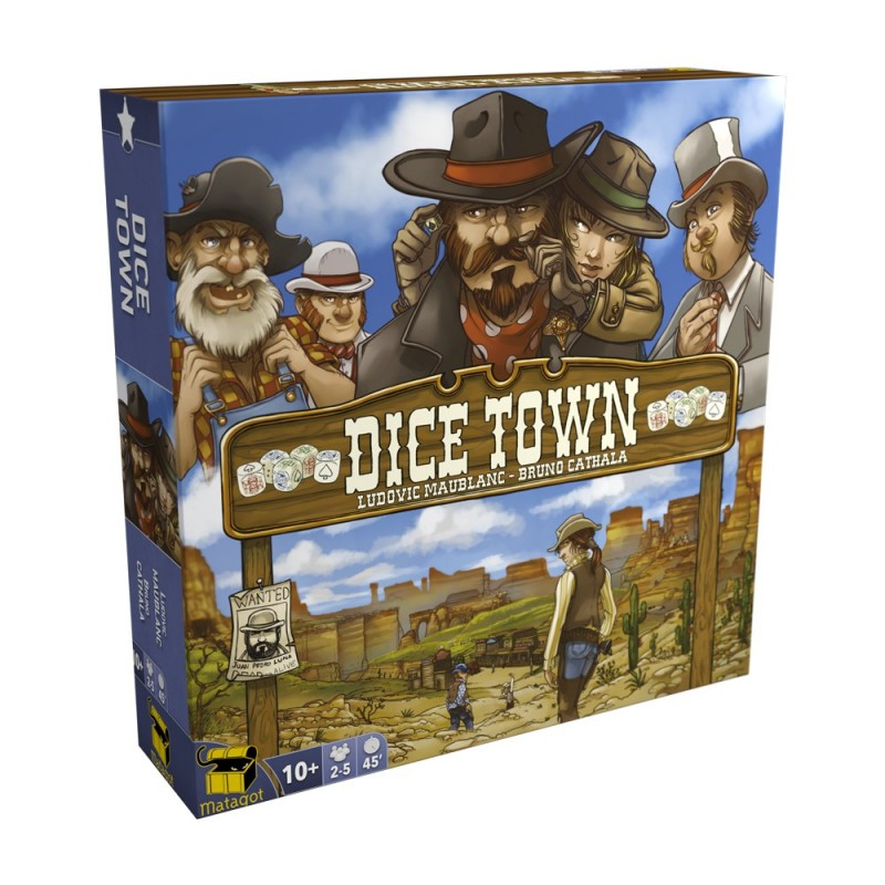 Dice Town | Multizone: Comics And Games