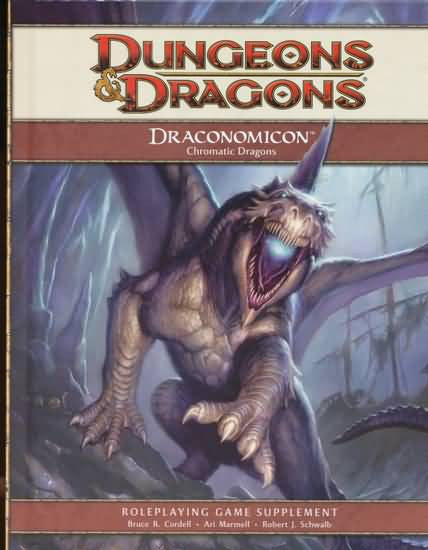 D&D 4e: Draconomicon: Dragons Chromatiques (FR)