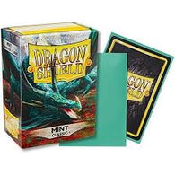 Classic Mint Dragon Shield Sleeves (100ct)