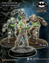 Riddler and Bot army-Batman Miniature Game-Multizone: Comics And Games | Multizone: Comics And Games