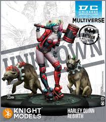 Harley Quinn Rebirth (Resin)-Miniatures|Figurines-Multizone: Comics And Games | Multizone: Comics And Games