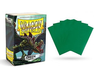 Matte Green Dragon Shield Sleeves (100ct)-Dragon Shield-Multizone: Comics And Games