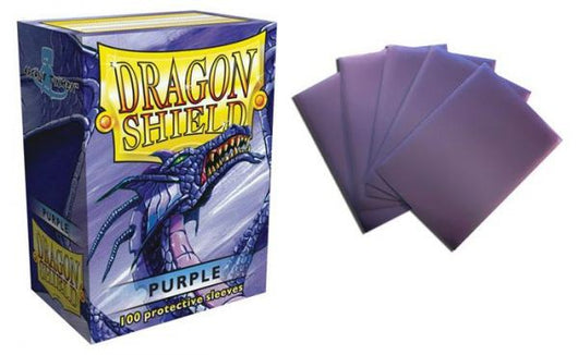 Classic Purple Dragon Shield Sleeves (100ct)