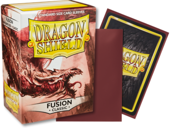 Classic Fusion Dragon Shield Sleeves (100ct)