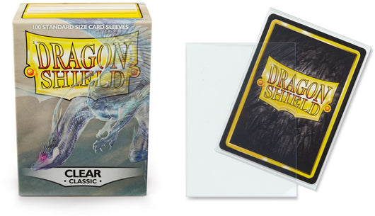 Classic Clear Dragon Shield Sleeves (100ct)-Dragon Shield-Multizone: Comics And Games