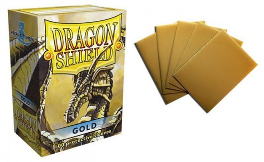 Classic Gold Dragon Shield Sleeves (100ct)