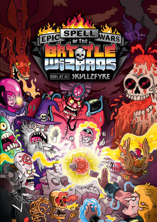 Epic Spell Wars of the Battle Wizards: Duel at Skullfyre (ENG)