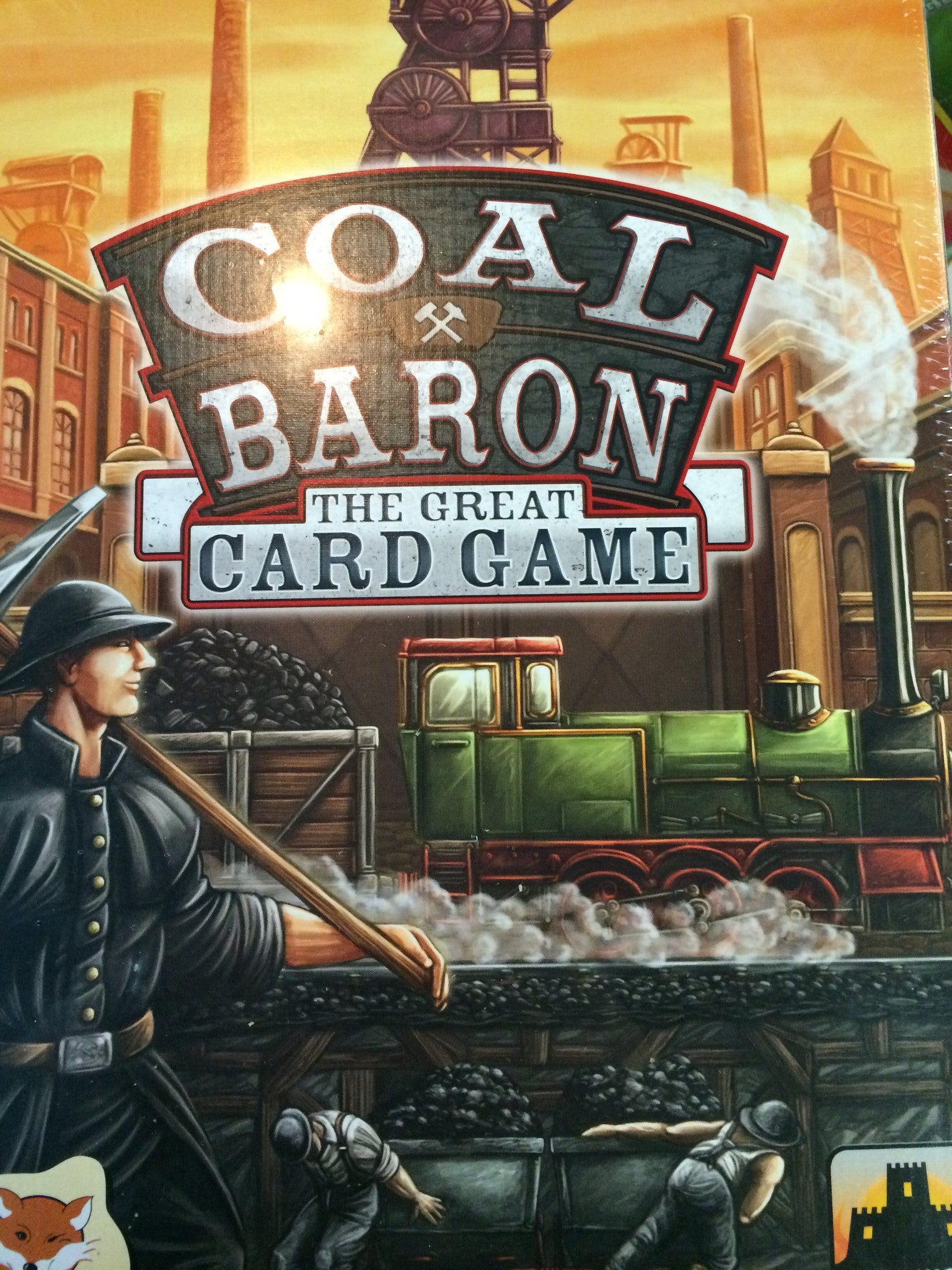 Coal Baron: the Great Card Came-card game-Multizone: Comics And Games | Multizone: Comics And Games