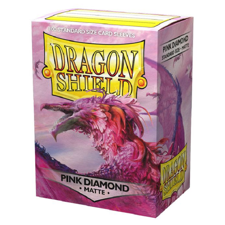 Pink Diamon Dragon Shield Sleeves (100ct) | Multizone: Comics And Games