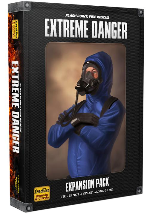 Flashpoint: Fire Rescue: Extreme Danger exp. (ENG)-Board game-Multizone: Comics And Games | Multizone: Comics And Games