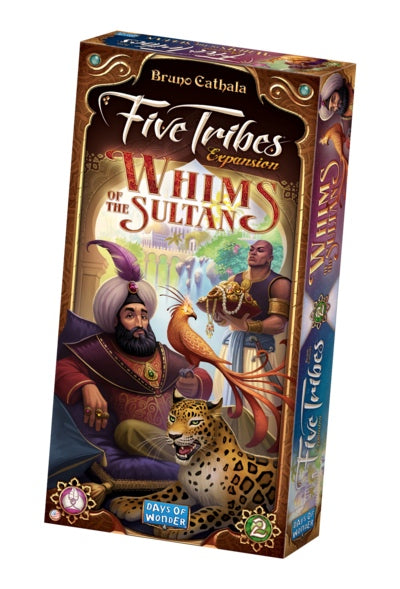 Five Tribes Expansion: Whims of the Sultan-Board game-Multizone: Comics And Games | Multizone: Comics And Games