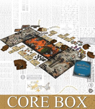 HARRY POTTER MINIATURES ADVENTURE GAME CORE BOX-Miniatures|Figurines-Multizone: Comics And Games | Multizone: Comics And Games