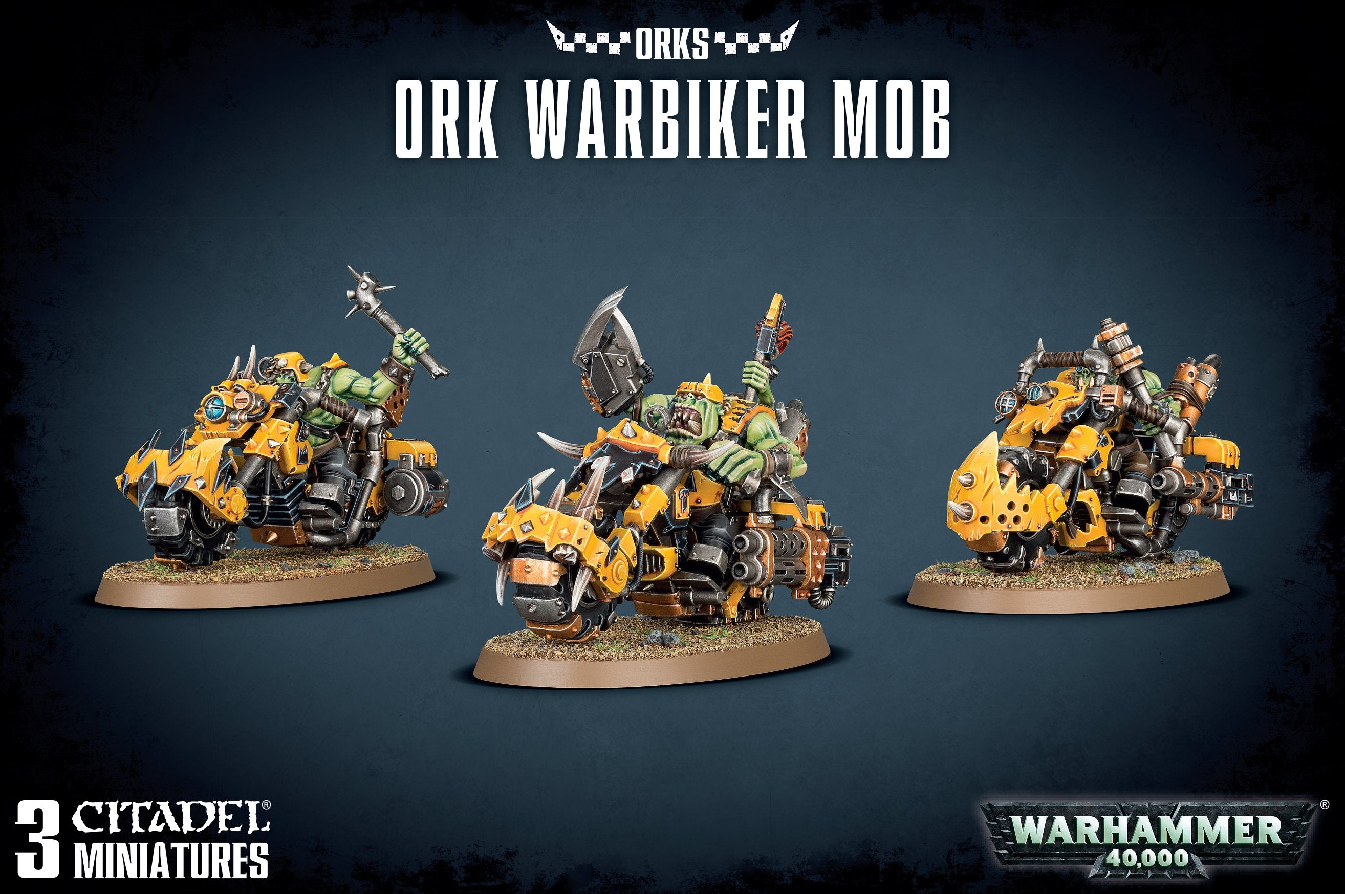 Ork Warbiker Mob | Multizone: Comics And Games