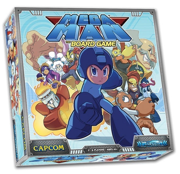 Mega Man: the Board Game-card game-Multizone: Comics And Games | Multizone: Comics And Games