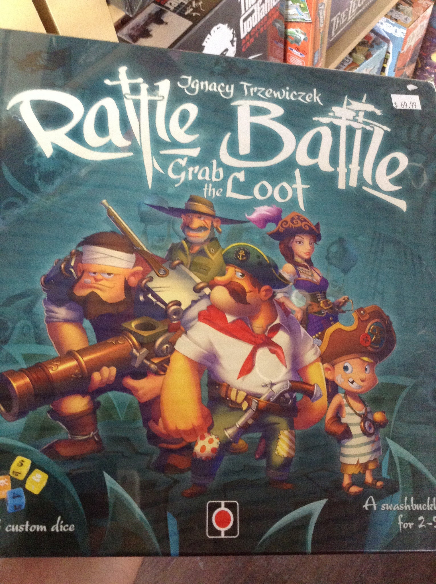 Rattle battle grab the loot (ENG)-Board Game-Multizone: Comics And Games | Multizone: Comics And Games