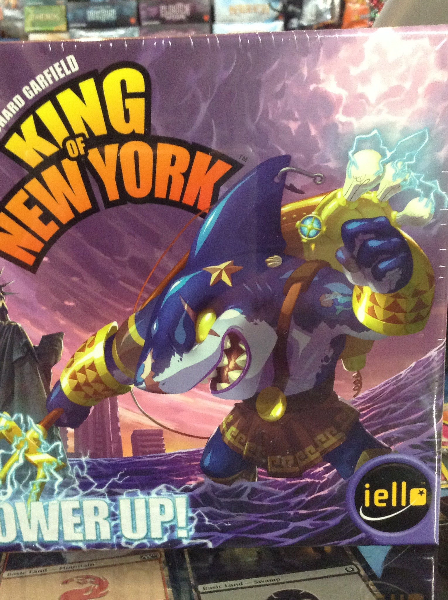 King of New York: Power Up! (ENG)-Board game-Multizone: Comics And Games | Multizone: Comics And Games