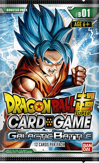 Galactic Battle - Boosters - DBS-Dragon Ball Super-Multizone: Comics And Games