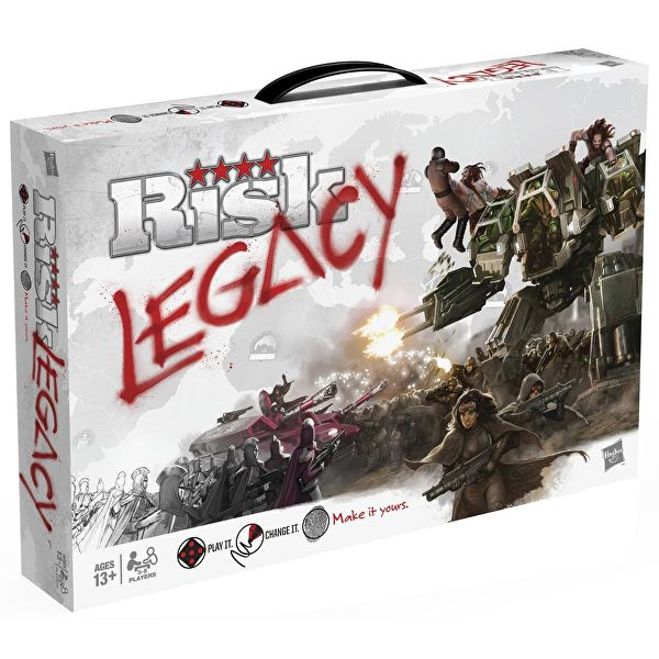 Risk Legacy-Board Game-Multizone: Comics And Games | Multizone: Comics And Games