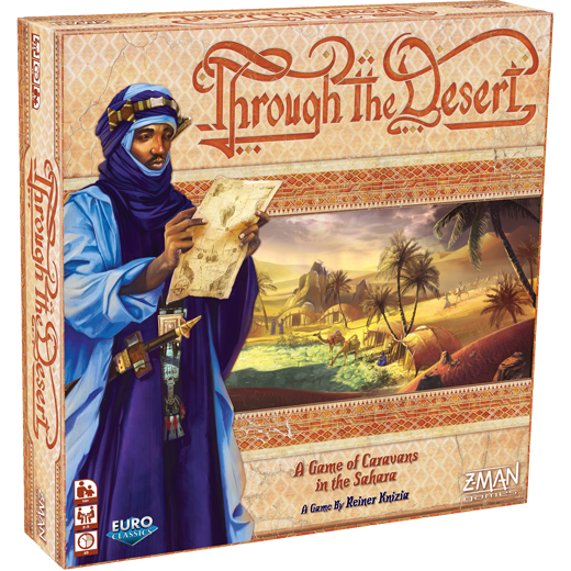 Through the desert-Board game-Multizone: Comics And Games | Multizone: Comics And Games