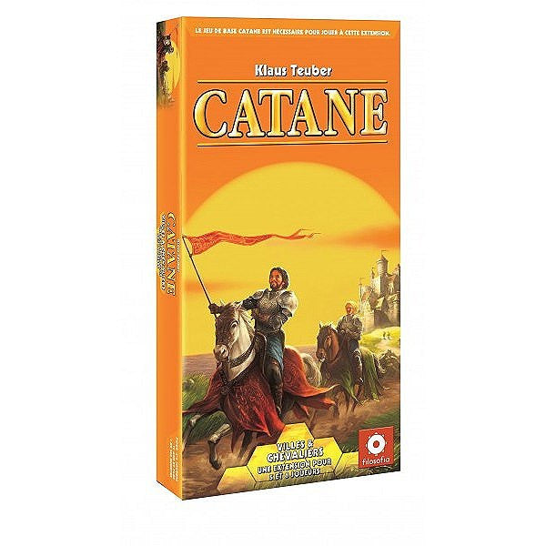 Catane: Villes et Chevaliers (FR)-Board game-Multizone: Comics And Games | Multizone: Comics And Games