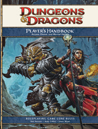 D&D 4e: Player's Handbook