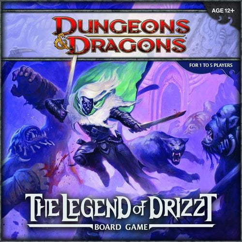 D&D: the Legend of Drizzt-Board game-Multizone: Comics And Games | Multizone: Comics And Games