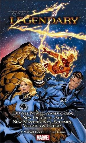 Marvel Legendary: Fantastic 4 exp