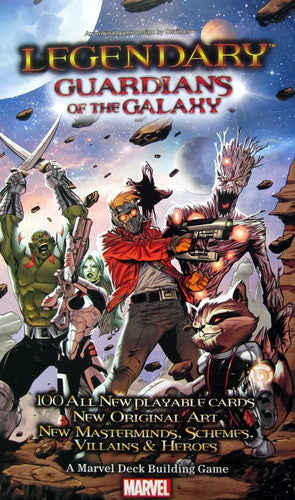 Legendary: Guardians of the Galaxy expansion (ENG)