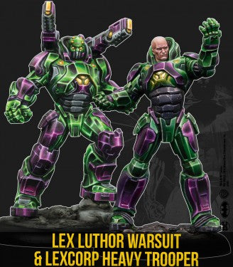 LEX LUTHOR ARMOUR & HEAVY TROOPER (MV)