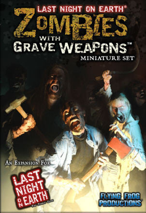 Last night on earth: Zombies with grave weapons miniature set (ENG)-Board game-Multizone: Comics And Games | Multizone: Comics And Games