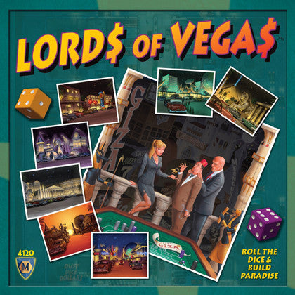Lords of New Vegas (ENG)-Board game-Multizone: Comics And Games | Multizone: Comics And Games