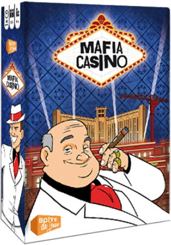 Mafia casino (ENG)-Board game-Multizone: Comics And Games | Multizone: Comics And Games