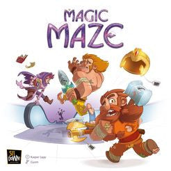 Magic Maze (ENG)-Board game-Multizone: Comics And Games | Multizone: Comics And Games