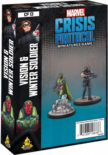 MARVEL CP: VISION & WINTER SOLDIER | Multizone: Comics And Games