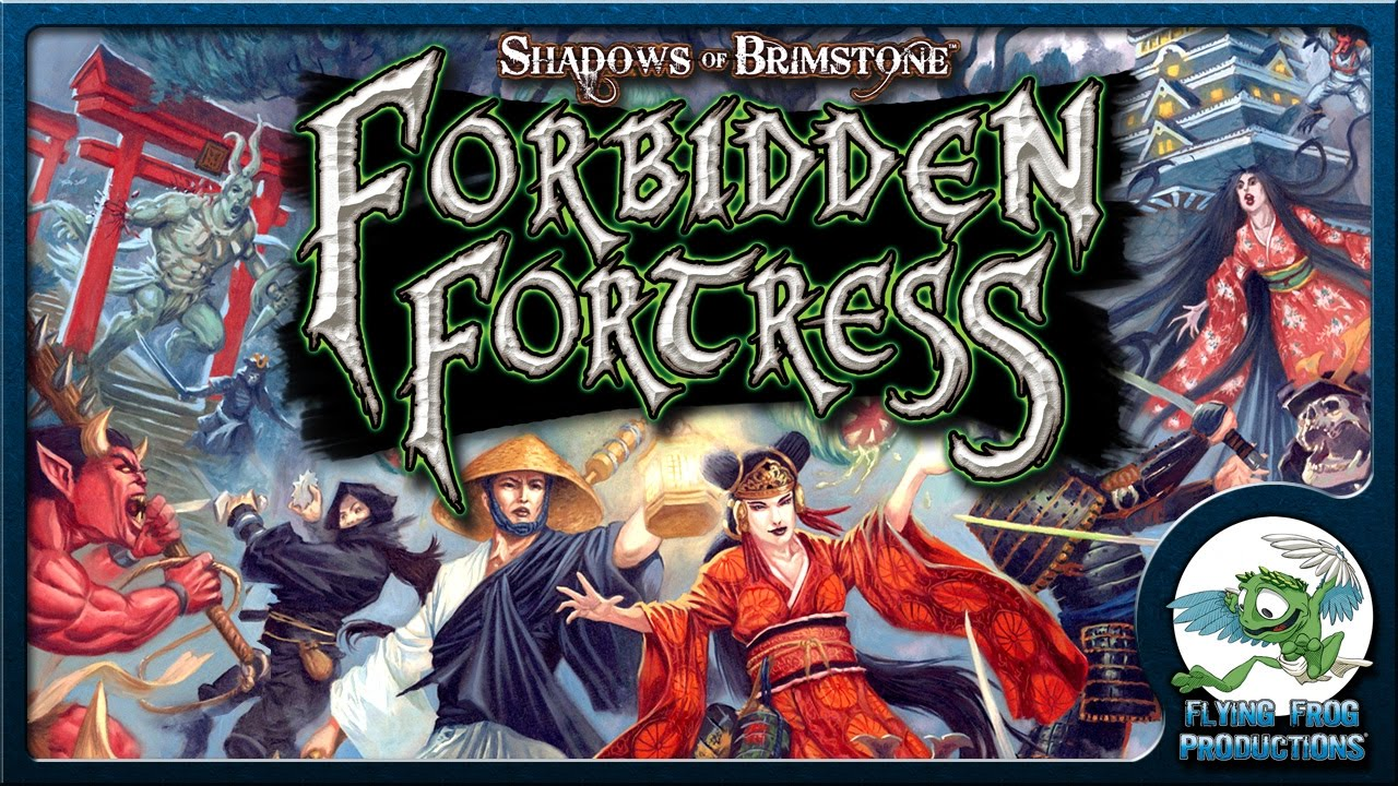 shadows of brimstone: Forbidden Fortress-Board Game-Multizone: Comics And Games | Multizone: Comics And Games