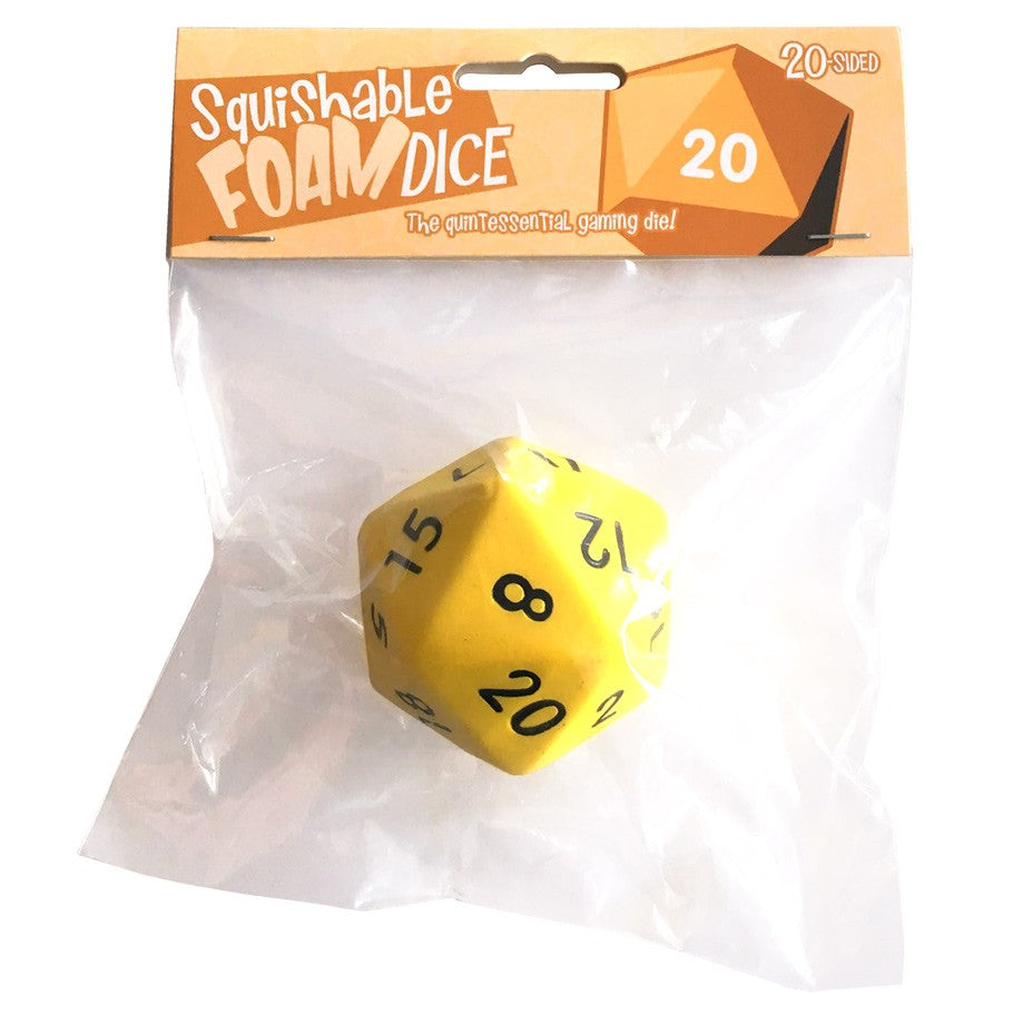 Squishable Foam Dice- Big Ol' D20-Dice-Multizone: Comics And Games | Multizone: Comics And Games