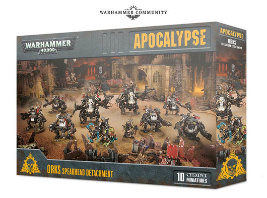 Apocalypse Orks Spearhead Detachment-Warhammer 40k-Multizone: Comics And Games