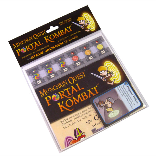 Munchkin quest: Portal Kombat-Board game-Multizone: Comics And Games | Multizone: Comics And Games
