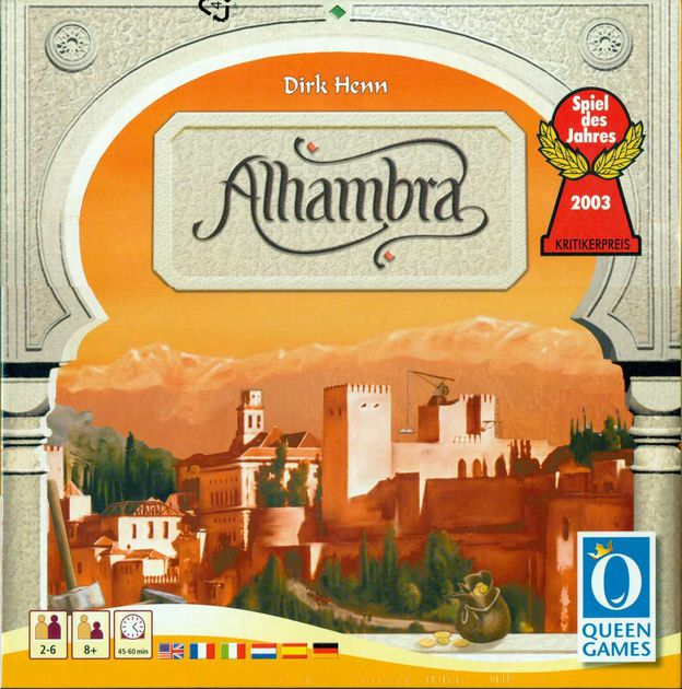 Alhambra (ENG)-Board game-Multizone: Comics And Games | Multizone: Comics And Games