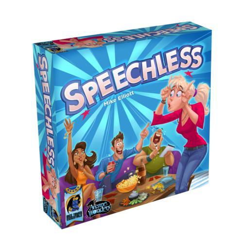 Speechless (ENG)-Board game-Multizone: Comics And Games | Multizone: Comics And Games