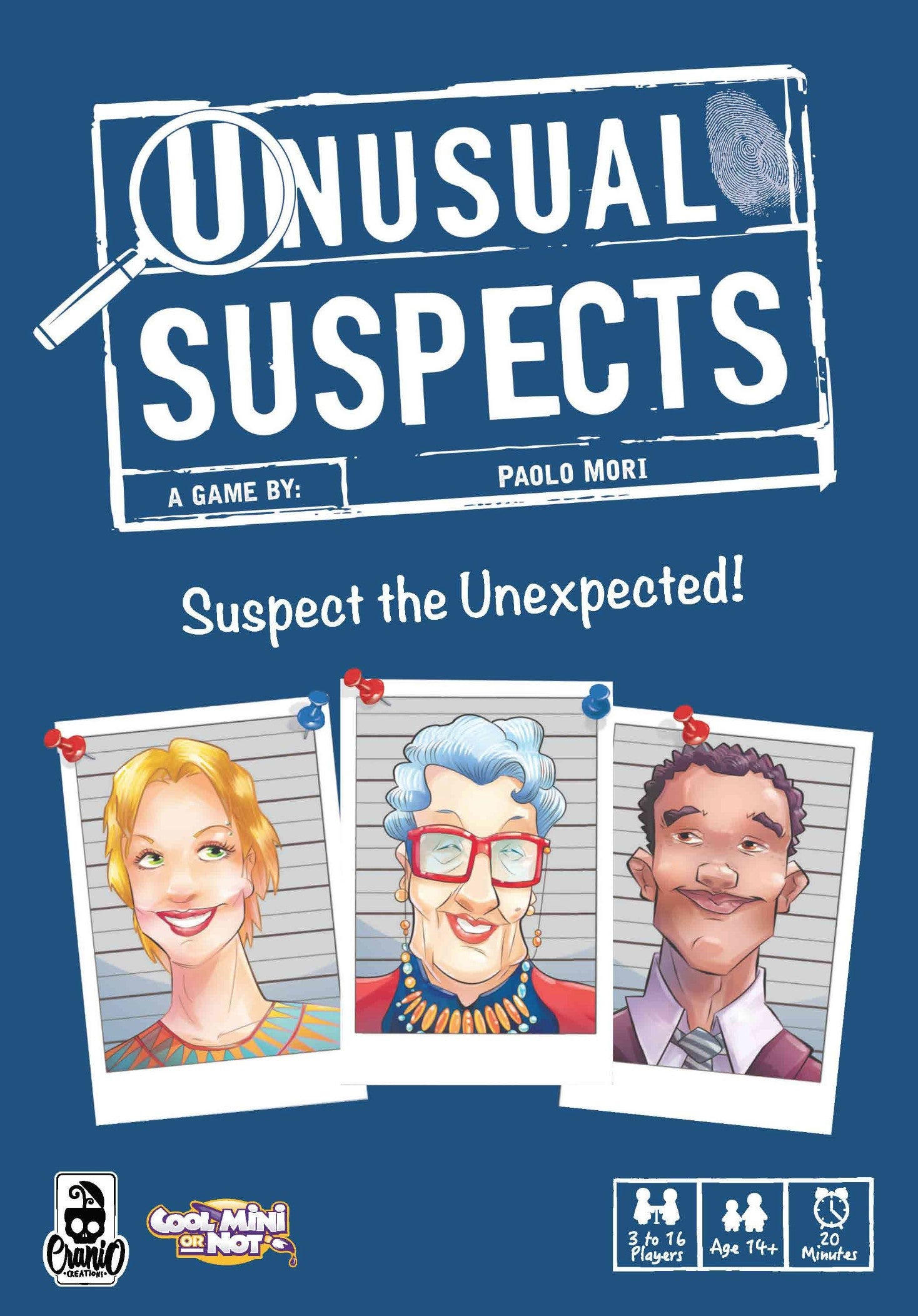 Unusual Suspects-Board Game-Multizone: Comics And Games | Multizone: Comics And Games