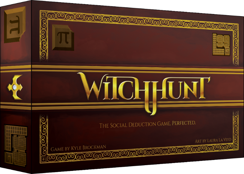 Witchhunt-Board game-Multizone: Comics And Games | Multizone: Comics And Games