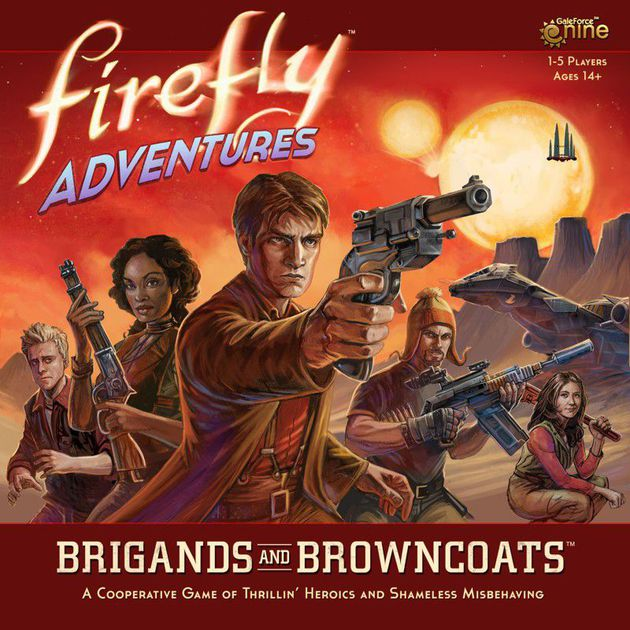 Firefly Adventures-Board game-Multizone: Comics And Games | Multizone: Comics And Games