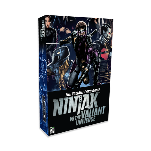 Valiant card game- NinjaK vs the valiant Universe-Board Game-Multizone: Comics And Games | Multizone: Comics And Games