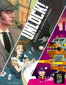 Unlock! Heroic Adventures-Board game-Multizone: Comics And Games | Multizone: Comics And Games