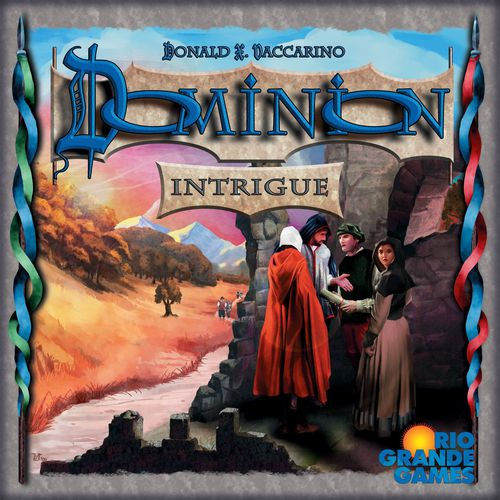 Dominion: intrigue (ENG)-Board game-Multizone: Comics And Games | Multizone: Comics And Games