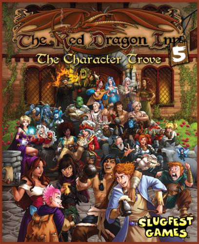 Red Dragon inn: the Character Grove expansion 5 (ENG)-Board game-Multizone: Comics And Games | Multizone: Comics And Games